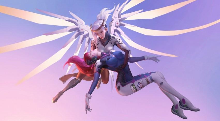 الاعلان عن تغييرات ضخمة لاسلوب لعب Mercy و D.Va في لعبة Overwatch