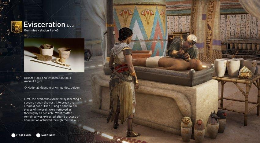 لعبة Assassin's Creed Origins ستحتوي علي Discovery Mode يسمح بأستكشاف و عرض معلومات عن الحضارة الفرعونية