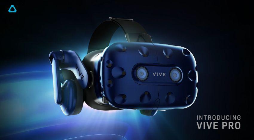 شركة HTC تعلن عن نسخة جديدة محسنة من نظارات Vive تحت مسمي PRO
