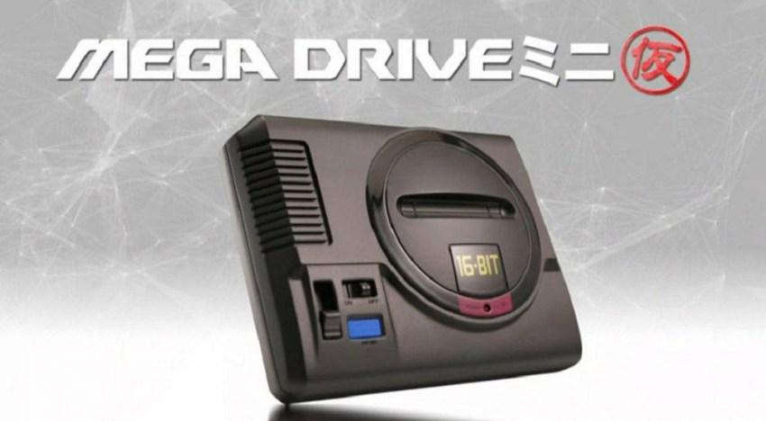 العرض الأول لجهاز الـMega Drive المصغر