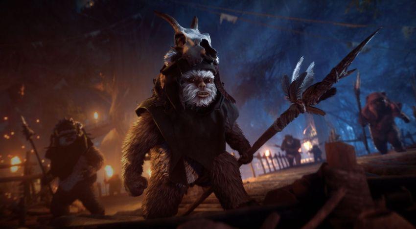 تحديث جديد للعبة Star Wars Battlefront 2 يضيف امكانية اللعب بالـEwoks و عودة الـMicrotransactions