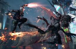 نشر صورة لأسلوب التحكم في لعبة Devil May Cry 5