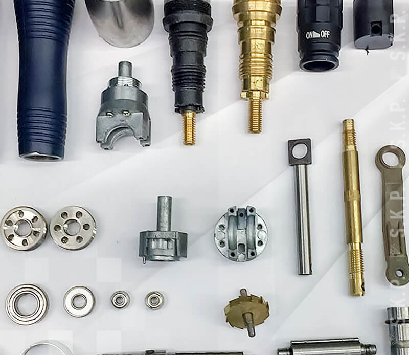 service repair and spare parts