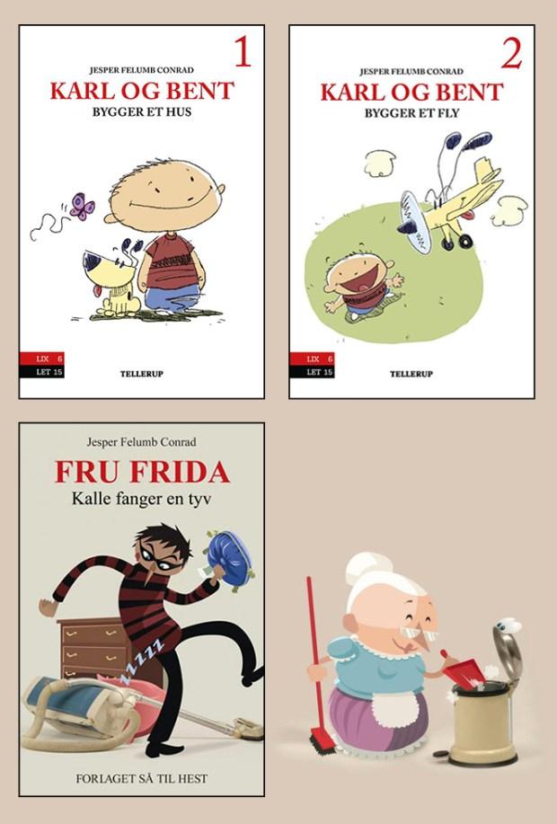 Børnebog børnebøger tegner skræntskov