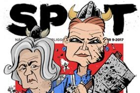 Satire – tegninger til magasinet Spot