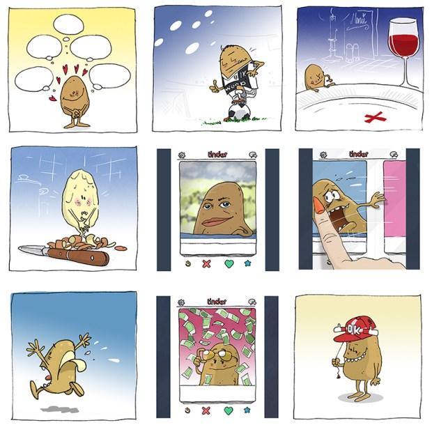 skræntskov kartoffel instagram grafik Madkulturen illustration mad