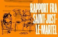Rapport fra en bladtegner i Saint-Just-le-Martel