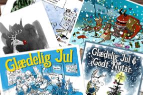 Post- og julekort – illustration