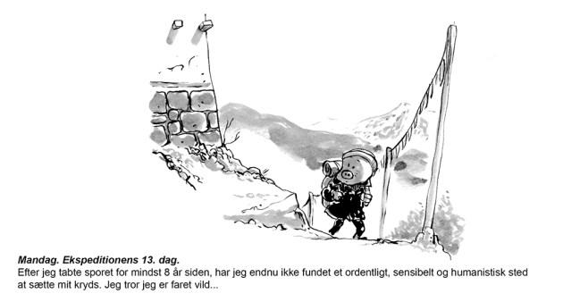 Tegneserie Jon Skræntskov webcomic comic valg 2019