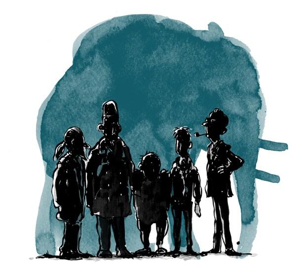 Forsideillustration tegner Skræntskov Jon
