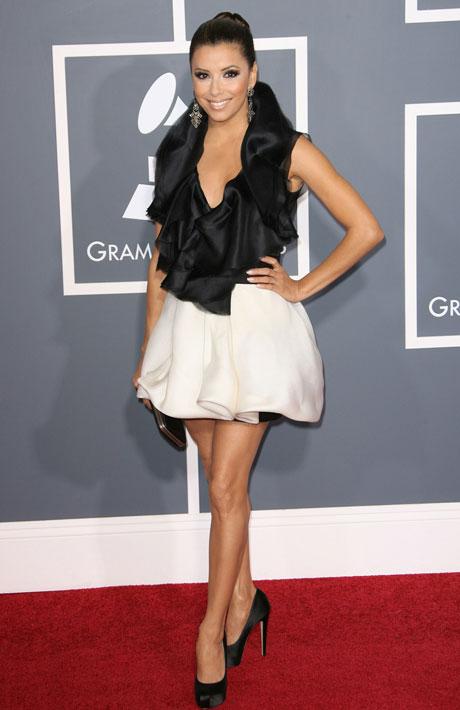 Eva-Longoria-Grammy-Awards-2011-Red-Carpet