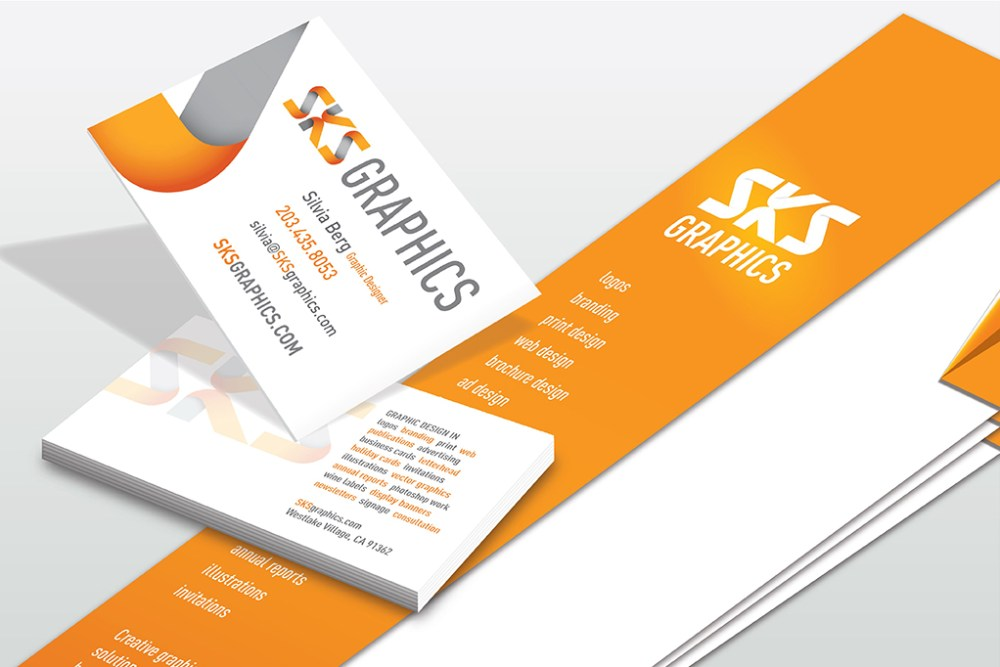 SKS Graphics – Graphic Design – Business Cards & Brochures