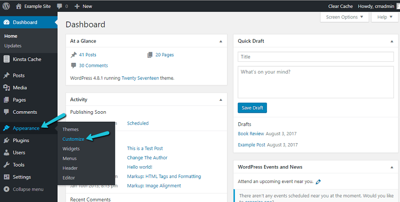 Quick Guide To WordPress Customizer Interface