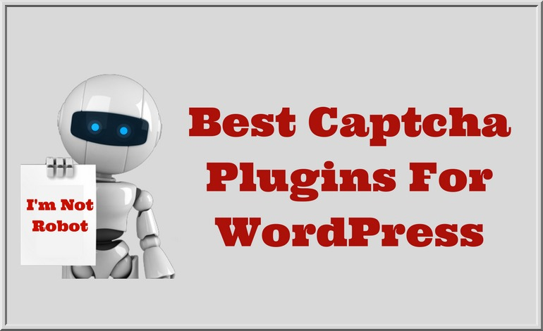 WordPress CAPTCHA Plugins