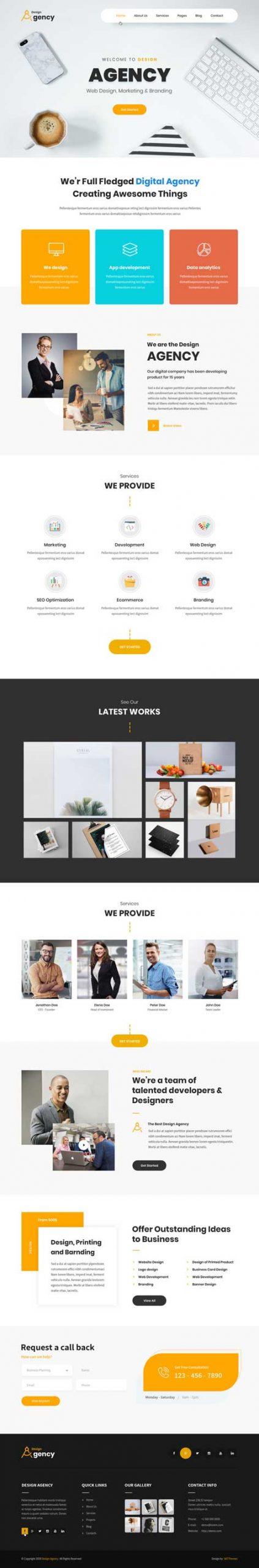 SKT Design Agency Pro