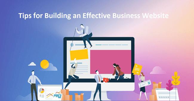 building an effective business website