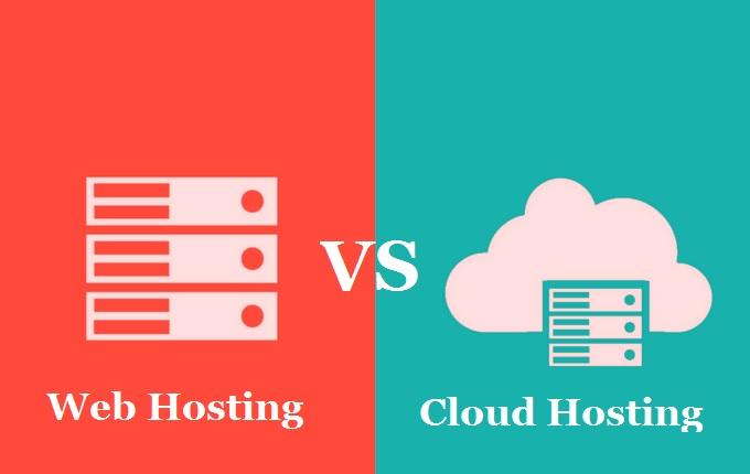 web hosting Vs cloud hosting