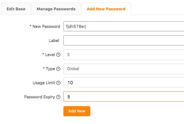 woocommerce password