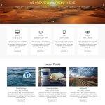 free clean minimal WordPress theme