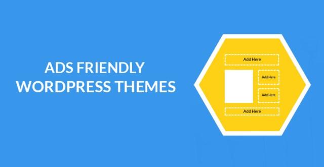 ads friendly WordPress themes