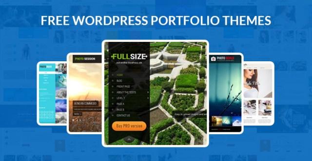 free WordPress portfolio themes