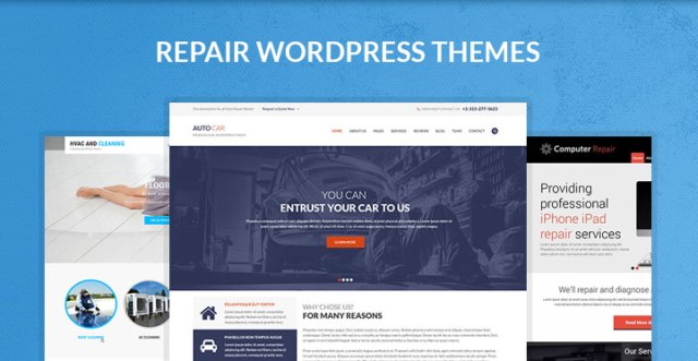 Repair WordPress themes