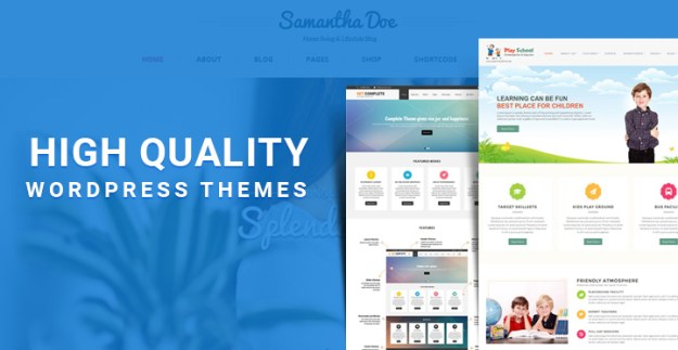 high quality WordPress themes