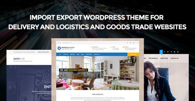 Import Export WordPress Theme