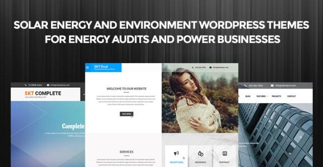 Environment WordPress Themes