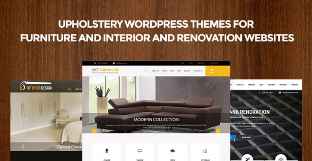 Upholstery WordPress Themes