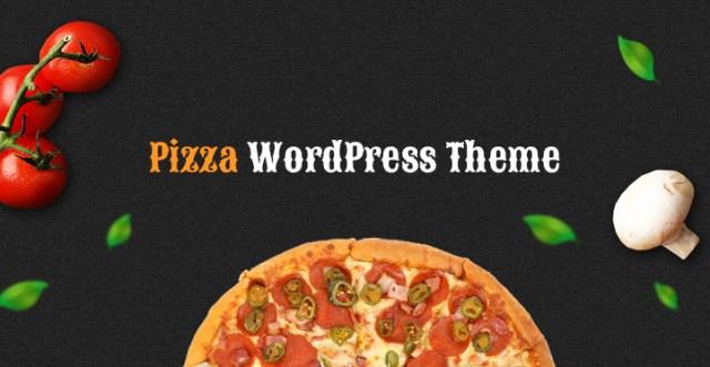 Pizza WordPress theme