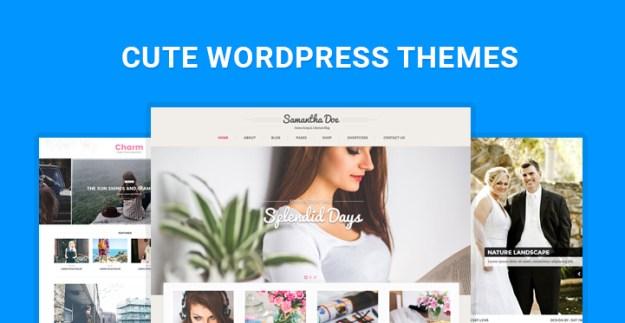 cute WordPress themes