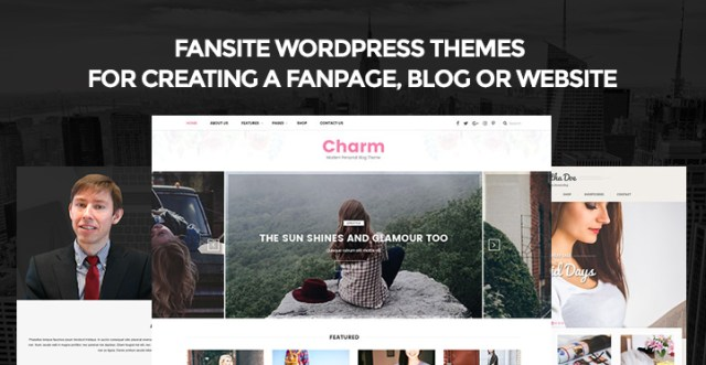 fansite WordPress themes