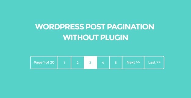 post-navigation-without-plugin