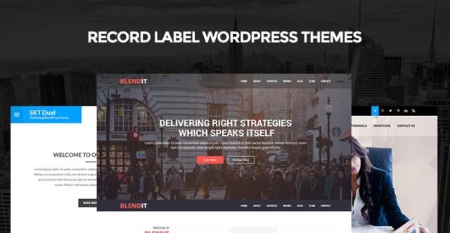 record-label-wordpress-themes