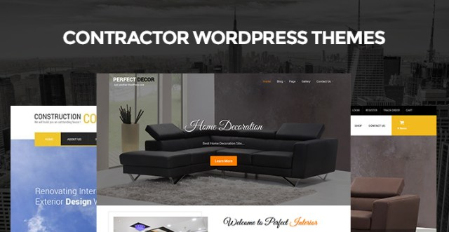 Contractor WordPress Themes