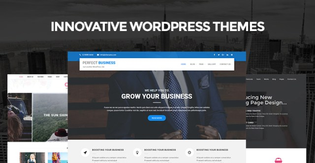 Innovative WordPress Themes
