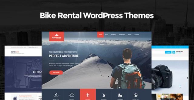 Bike Rental WordPress Themes