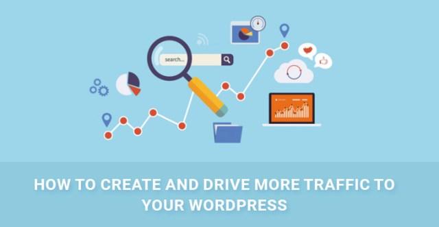 drive more traffic WordPress blog