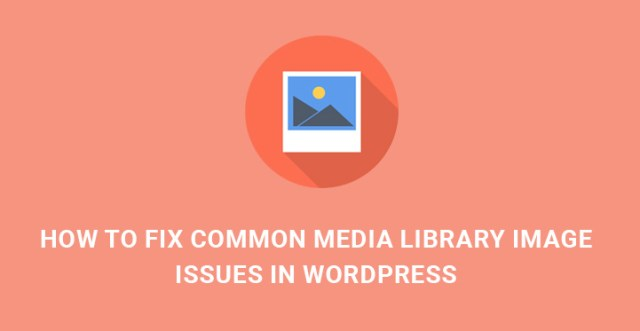 fix common media issues WordPress