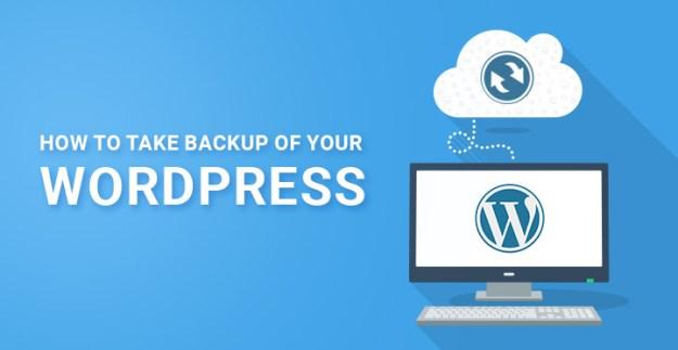 Automatic WordPress backup