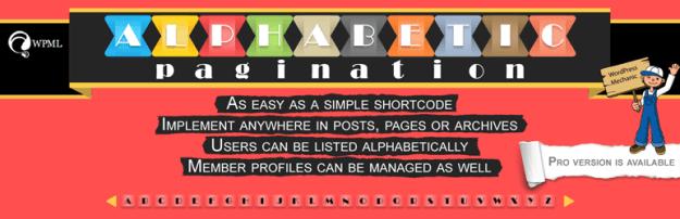 alphabetic paginate