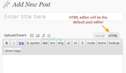 HTML View Editor