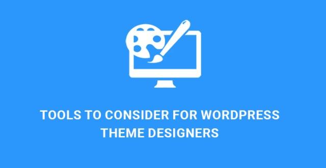 tools WordPress theme designers