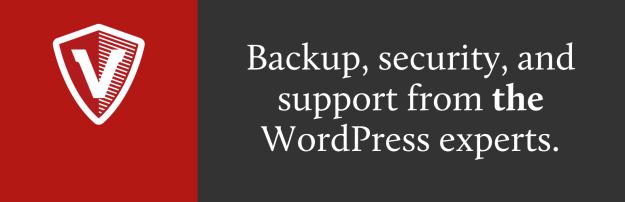 vaultpress WordPress backup
