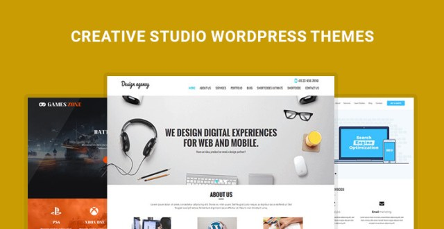 Creative Studio WordPress Themes
