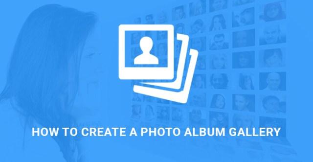 photo album gallery