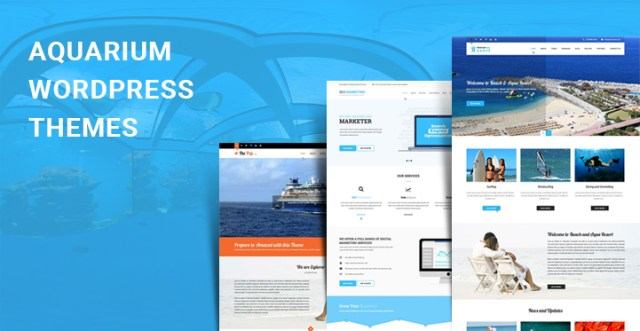 aquarium WordPress themes