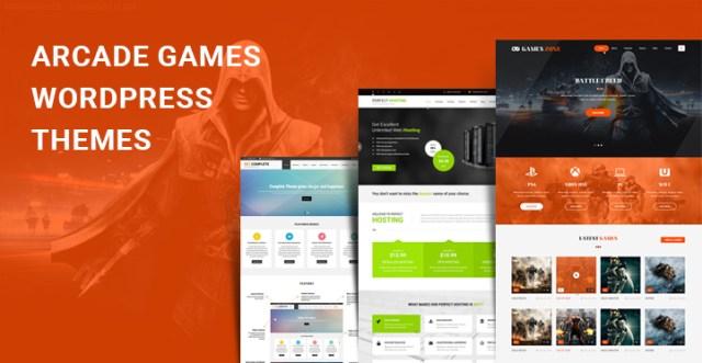 arcade games WordPress themes