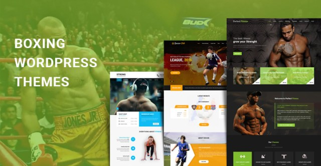 boxing WordPress themes